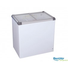Glass Slider Freezer 197L - VL222