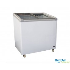 Glass Slider Freezer 152L - VI202-L